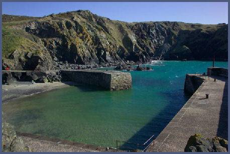 Harbour at Mullion Cove
