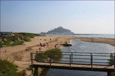 St Michael's Mount and Marazion, Cornwall